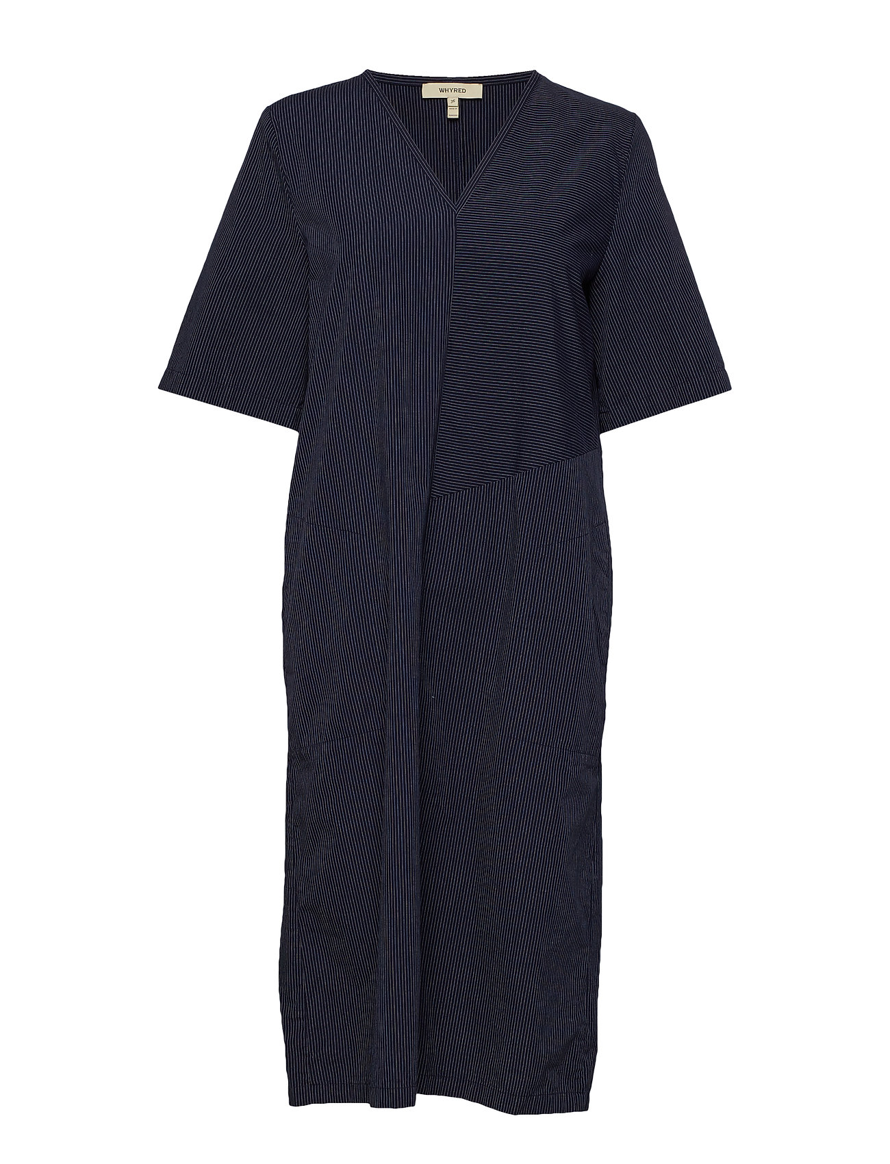 Whyred DIX  STRIPE - CLASSIC NAVY