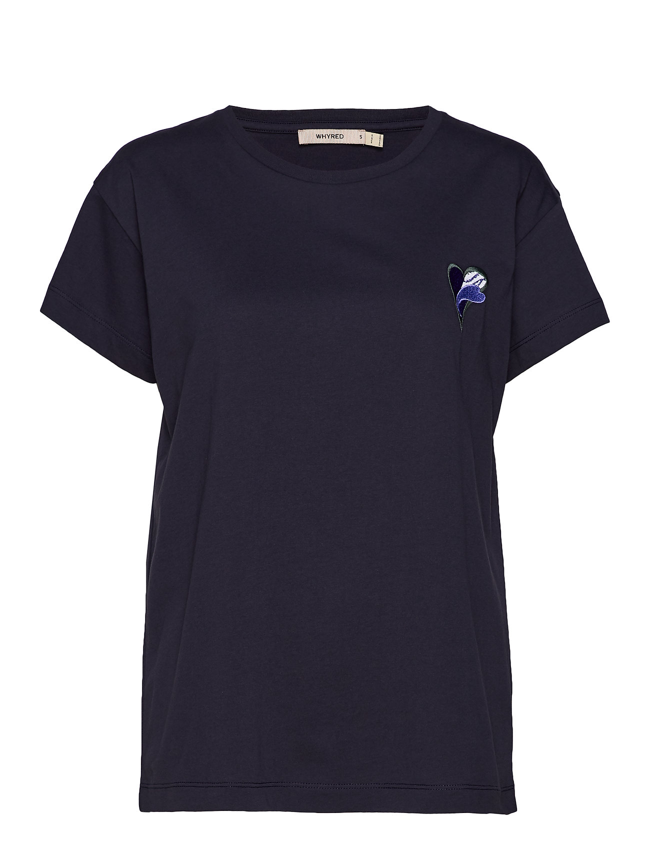 Whyred NICO EMBROIDERY - CLASSIC NAVY