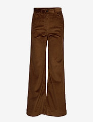 Whyred - RUTH - wide leg trousers - military brown - 0
