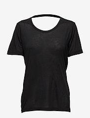 Whyred - FONDA - basic t-shirts - black - 0
