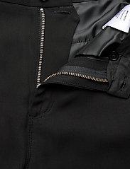 Whyred - MAXTON BELT - wide leg trousers - black - 3