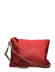 KIRA MINI FABRIC - RED COGNAC