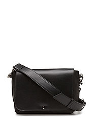 ONA FLAP NUBUCK - BLACK