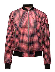 JANNIKE PRINT - RED CHECK
