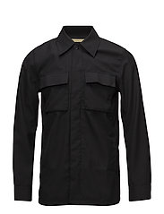 DUVALL OFFICER SHIRT - BLACK