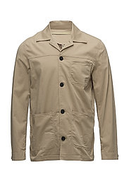 ALAN SHIRT JACKET - BEIGE