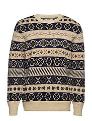 COIL FAIR ISLE - MULTICOLOR