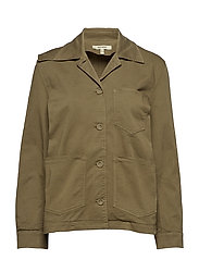 Harry Shirt Jkt - DUSKY GREEN