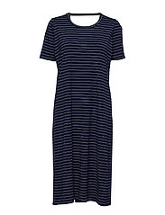 FONDA DRESS STRIPE - CLASSIC NAVY