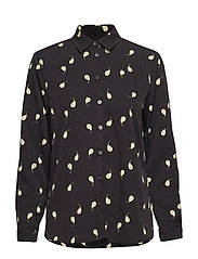 KAROLINA PEAR PRINT - BLACK