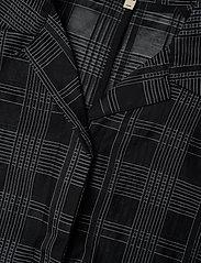 Whyred - MACKENZIE GEOMETRIC - chemises à manches courtes - black / white - 2