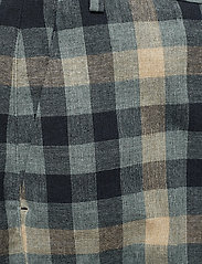 Whyred - CARNOT - slim fit trousers - blue check - 2