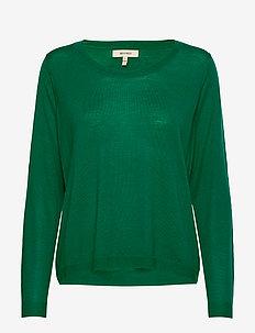 FLORA MERINO - pulls - green