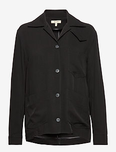 W HARRY JKT - lette jakker - black