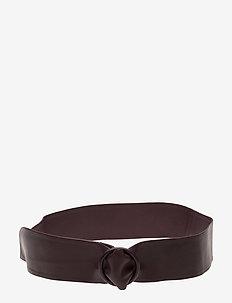 KINNIA - ceintures - plum
