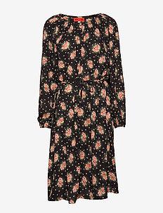 PENNY BLOSSOMY - midi kjoler - black