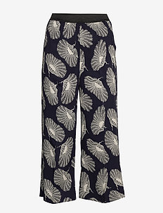 POTTER POPPIES - wide leg trousers - classic navy