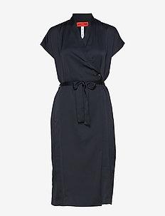 MARIEN - slå-om-kjoler - classic navy