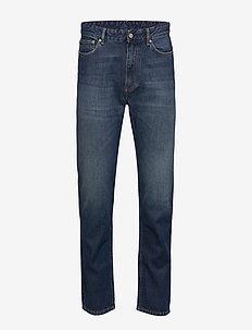 THUNDERS DK STONE - relaxed jeans - mid indigo
