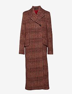 ADELE - wool coats - blue rope