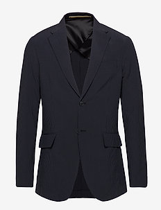 RUDY SEARSUCKER SILKBLEND - blazers à boutonnage simple - ensign blue