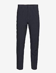 JOHN SEARSUCKER SILKBLEND - pantalons habillés - ensign blue
