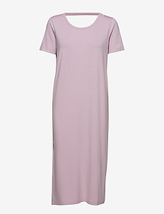 FONDA DRESS - midi kjoler - lingonberry milk