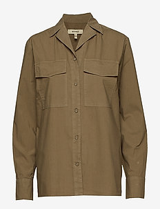 AMAURY - long-sleeved shirts - dusky green