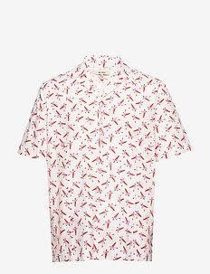 MAC PRINT - kortærmede skjorter - white