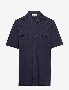MAC POCKET SOLID - basic skjorter - classic navy