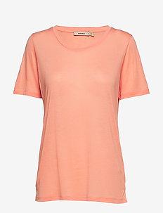 VANYA - basic t-shirts - peach pink