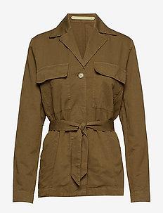 CRIMEES BELT - kurtki użytkowe - military brown