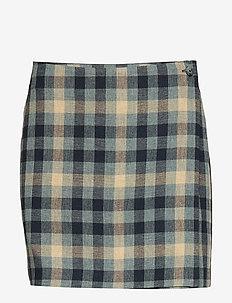 LILJA - short skirts - blue check