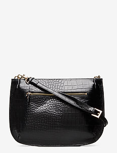 ONA CROCO - BLACK