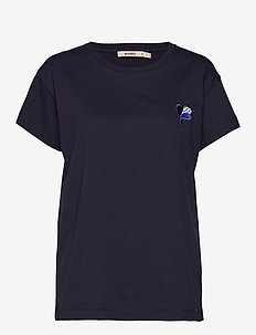 NICO EMBROIDERY - basic t-shirts - classic navy