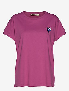 NICO EMBROIDERY - basic t-shirts - pink lilac
