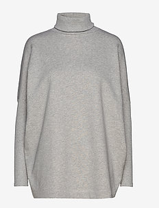 KENZA - turtlenecks - grey melange