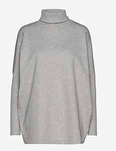 KENZA - pulls à col roulé - grey melange