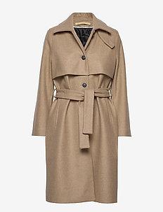 KATE - wool coats - beige
