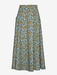 AVRIL PAISLEY PRINT - TURQUOISE