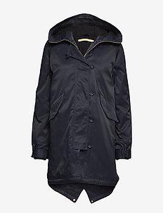STAR - parka coats - classic navy