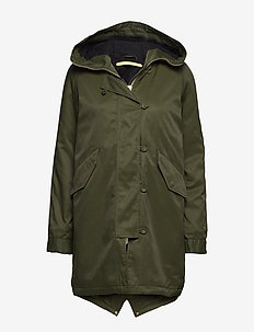 STAR - parkas - uniform green