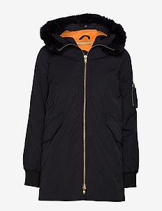 HALE - bomber jackets - black