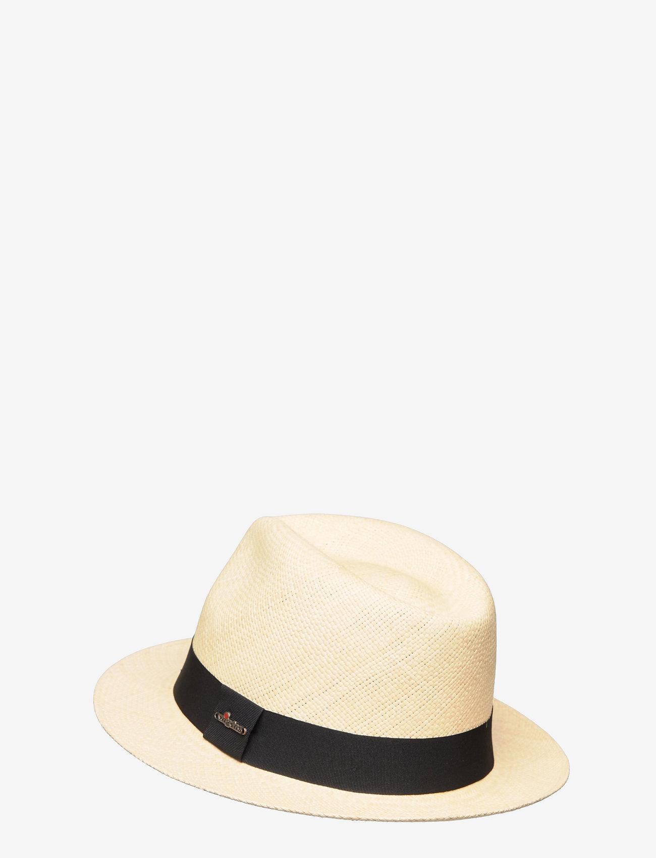 Wigéns - Panama Hat - chapeaux - black - 1