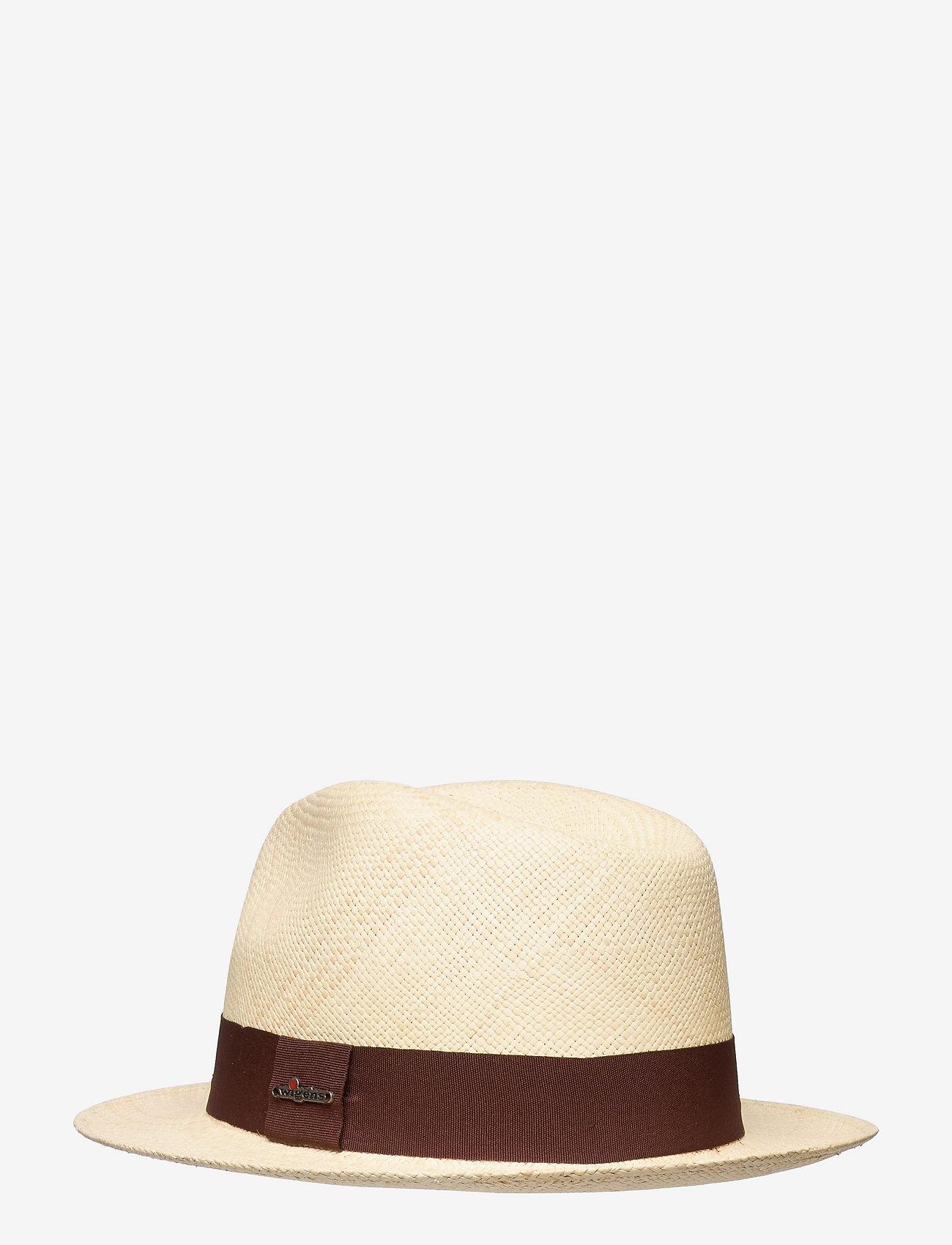 Wigéns - Panama Hat - chapeaux - dark brown - 1