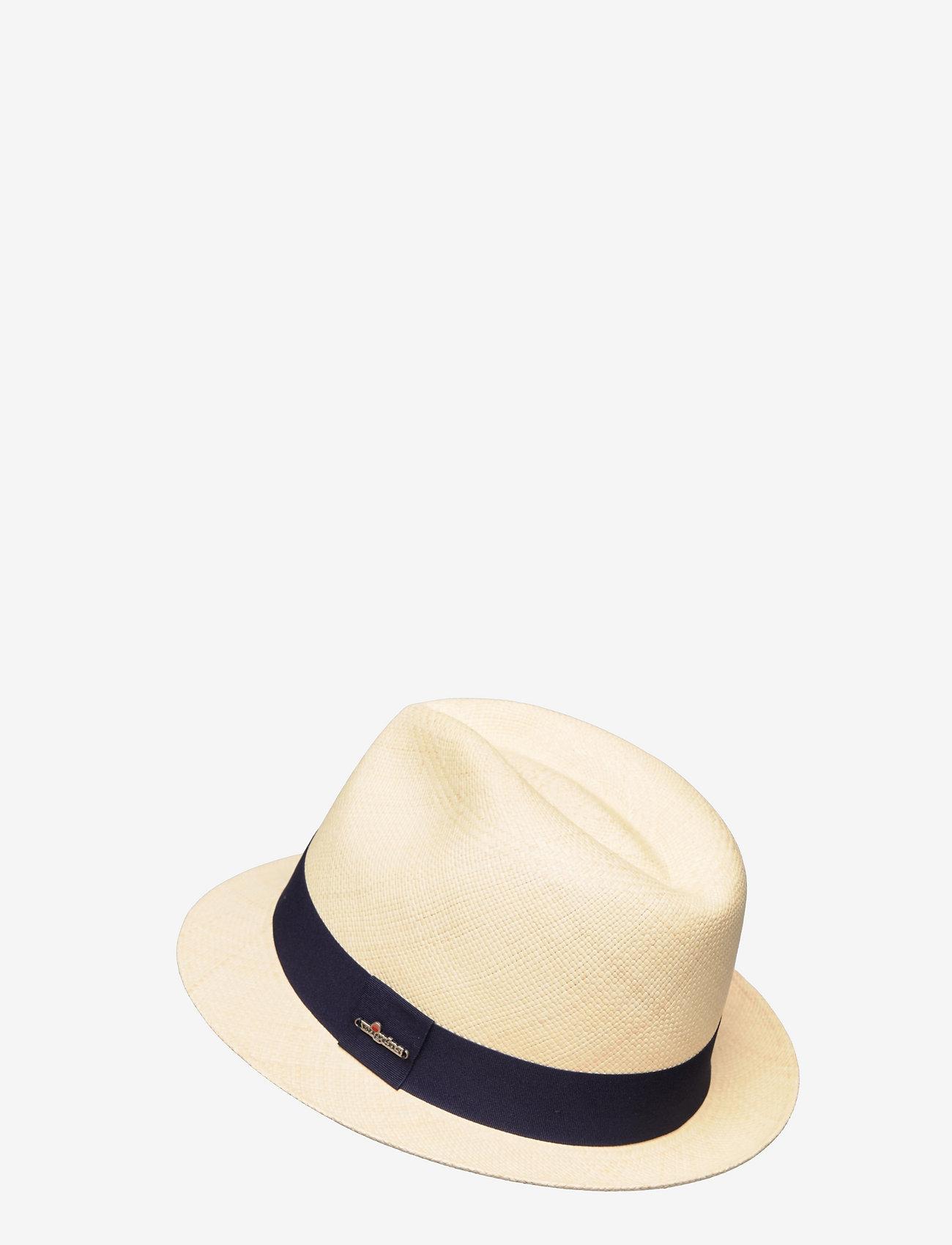 Wigéns - Panama Hat - chapeaux - navy - 1