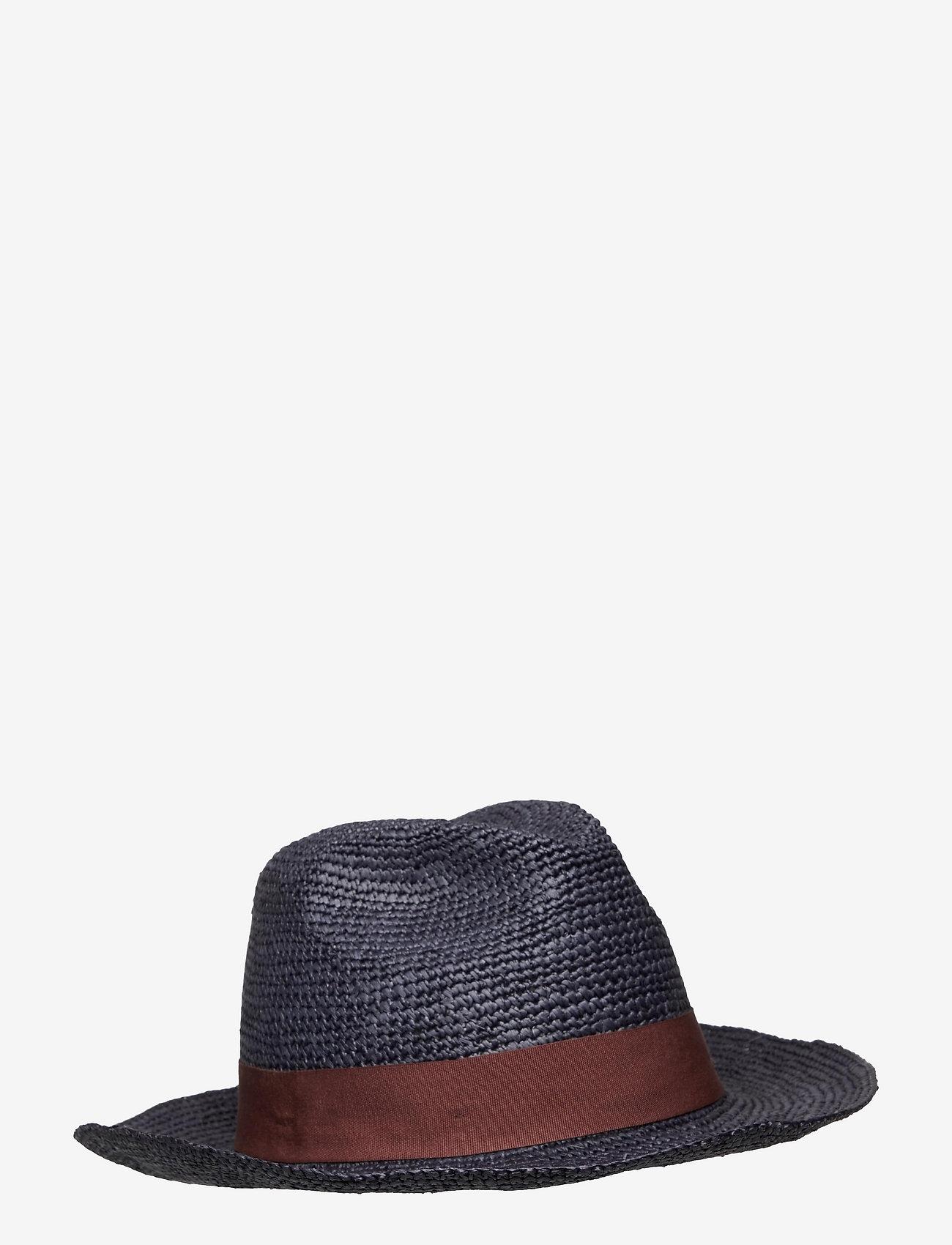Wigéns - Panama Hat - chapeaux - navy - 0