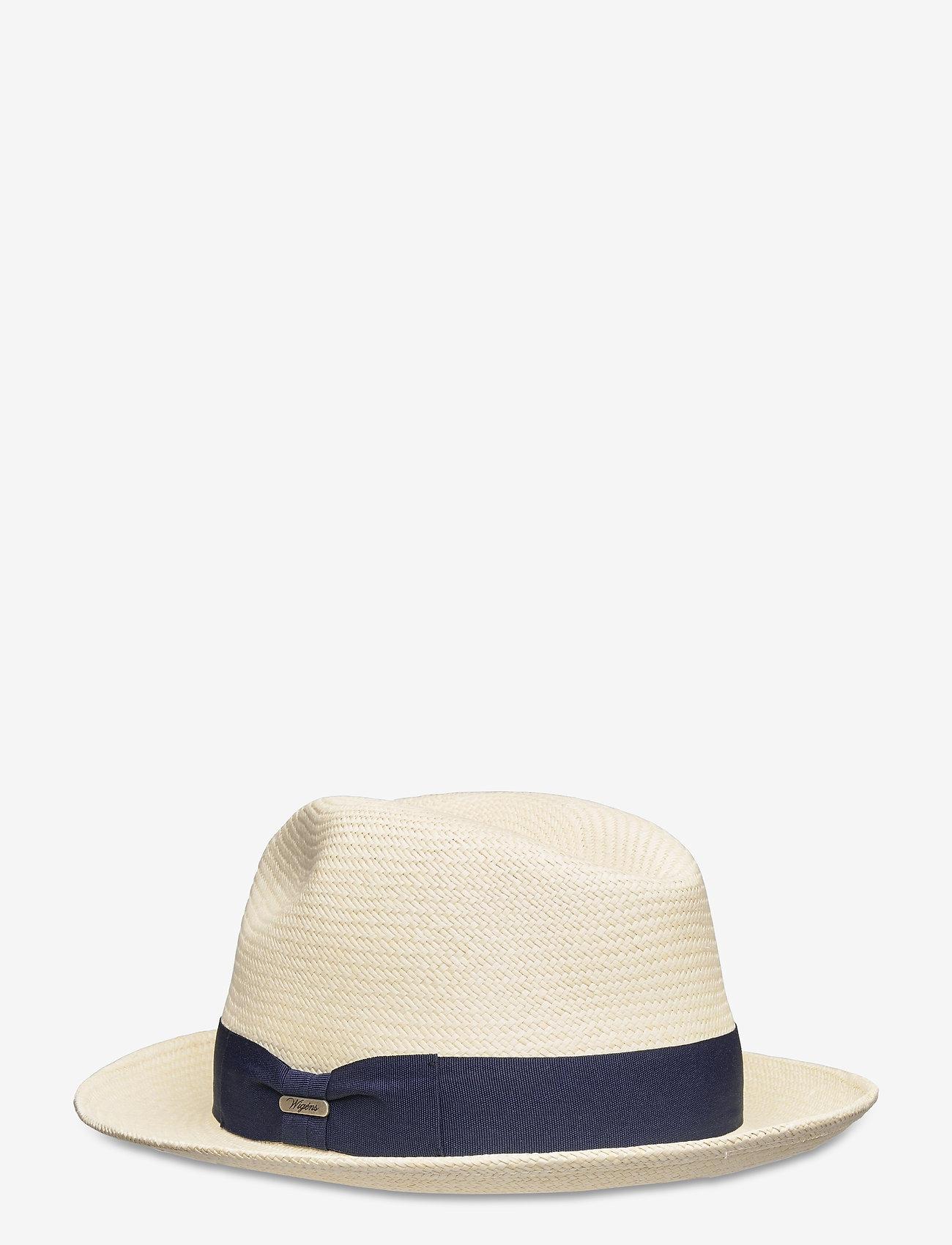 Wigéns - Panama Trilby Hat - chapeaux - navy - 1
