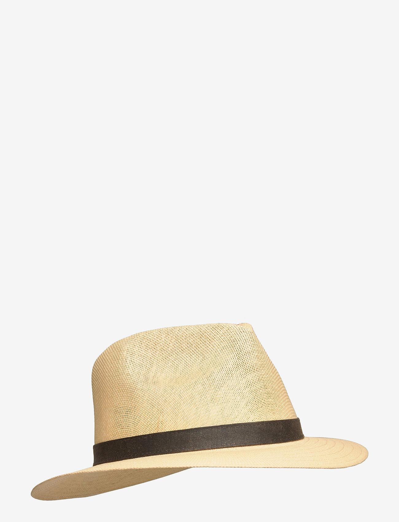 Wigéns - Fedora Country Hat - chapeaux - natural - 0