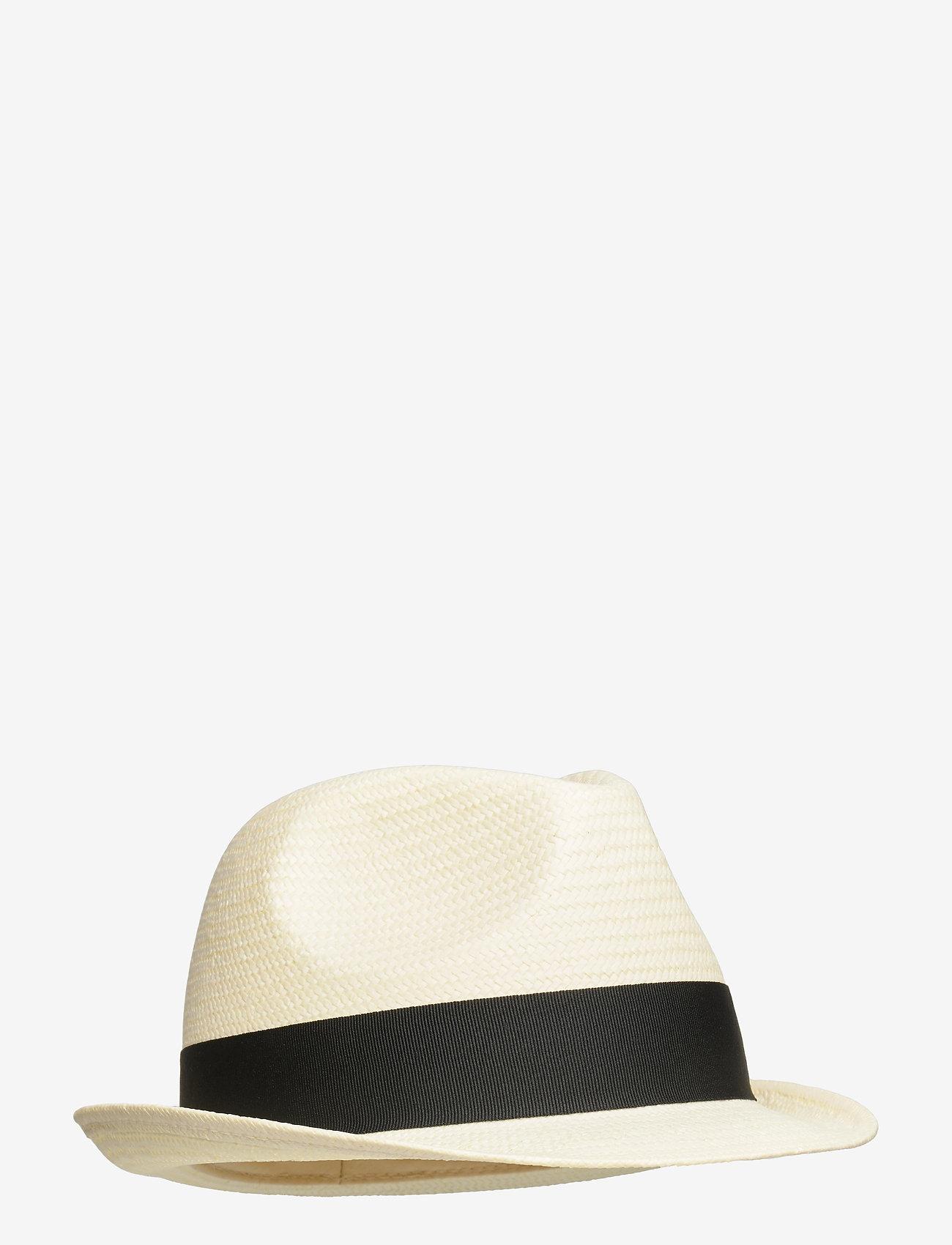 Wigéns - Trilby Hat - chapeaux - ecru - 0
